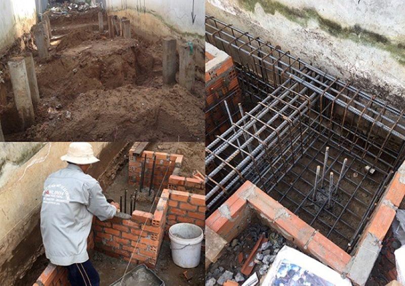 Móng nhà trong thi công công trình
