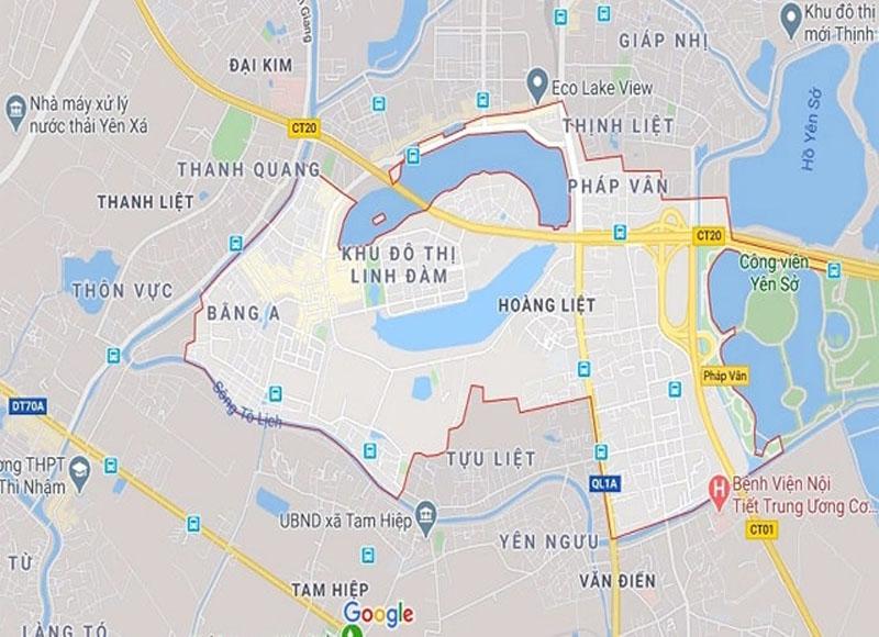 Mục tiêu lập bản đồ quy hoạch quận Hoàng Mai