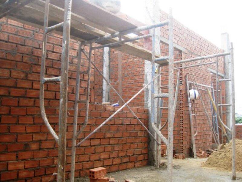 Nguyên tắc bổ trụ trong tường xây