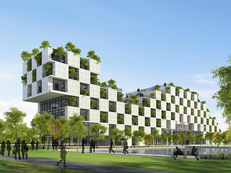 Nguyên tắc của kiến trúc xanh là áp dụng khoa học công nghệ mới nhằm tiết kiệm và bảo tồn nguồn năng lượng