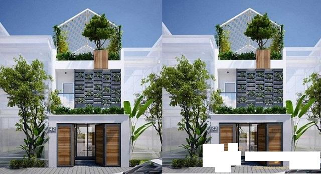 Nhà 2 tầng hiện đại đẹp nhất 2021