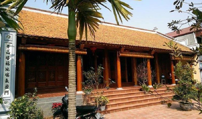 Mẫu nhà gỗ 3 gian