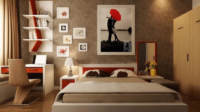 Những loại tranh nên treo trong phòng ngủ hợp lý