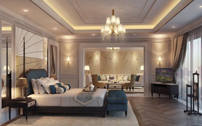 Nội thất khách sạn đẹp và tiện nghi