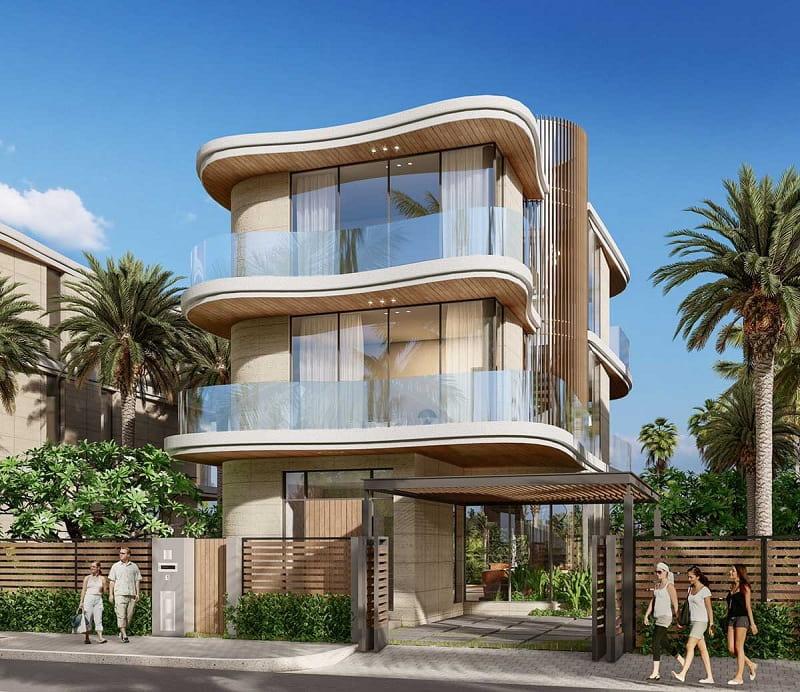 Phối cảnh kiến trúc sản phẩm dự án đẹp mắt hấp dẫn ánh mắt người xem