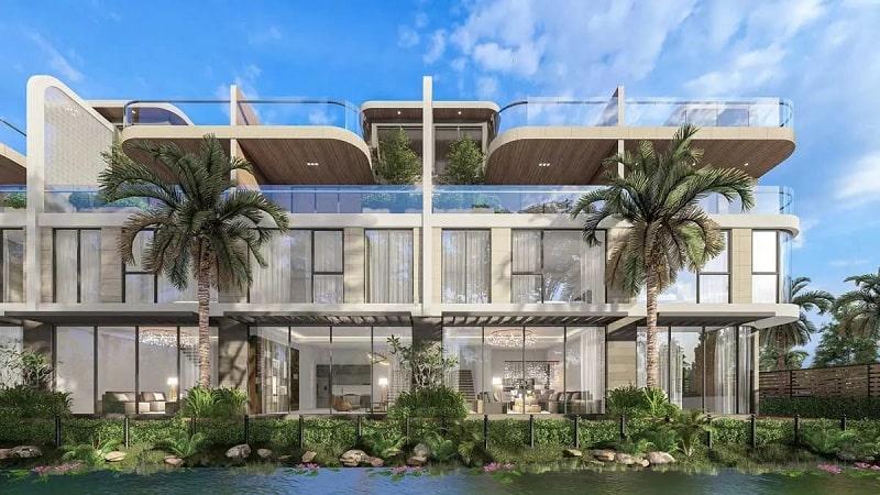 Phối cảnh mẫu sản phẩm thấp tầng Garden House dự án