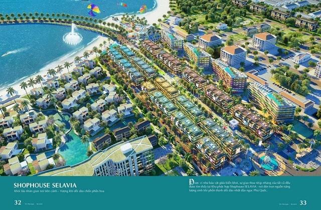 Phối cảnh tổng thể dự án Selavia Phú Quốc