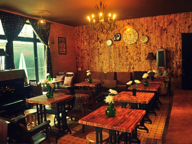 Phong cách quán trà sữa cổ điển