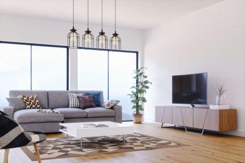 Phòng khách mang phong cách contemporary