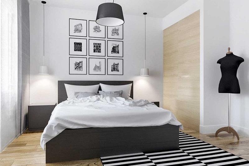 Phòng ngủ thoáng mát giúp giấc ngủ ngon hơn