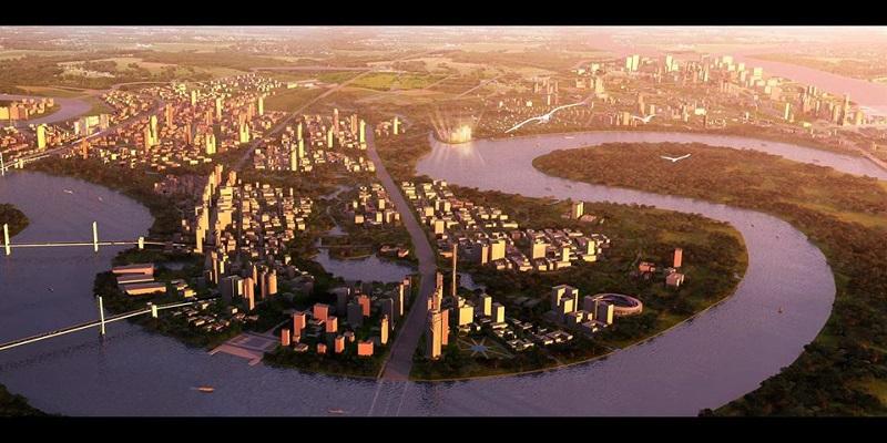 Quận 2 trở thành trung tâm của thành phố Tp.HCM ở tương lai