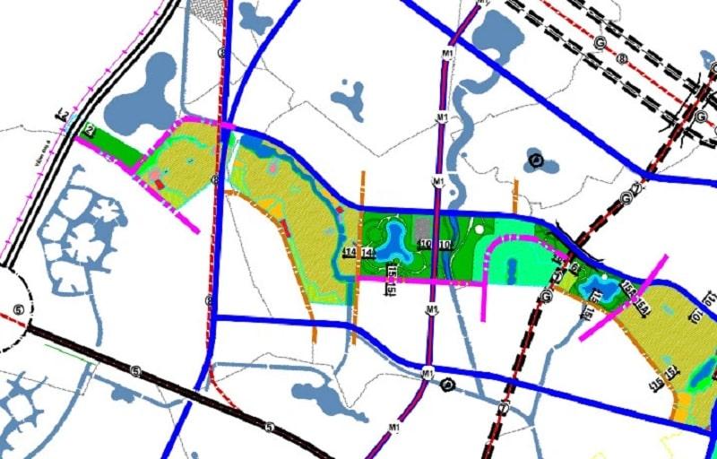 Quy hoạch huyện Hoài Đức với những tuyến đường giao thông phát triển