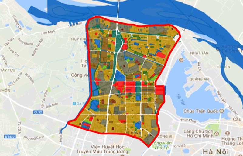 Quy hoạch phân khu đô thị H1-2