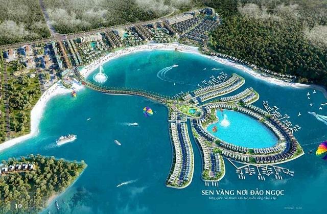 Selavia Phú Quốc  được thiết kế với vẻ ngoài ấn tượng tựa Quốc Hoa Việt Nam