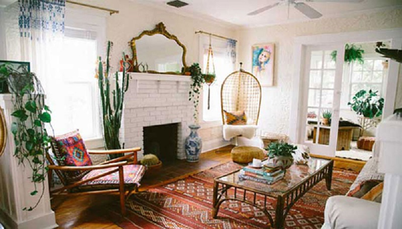 Sử dụng chất liệu vải để trang trí nội thất