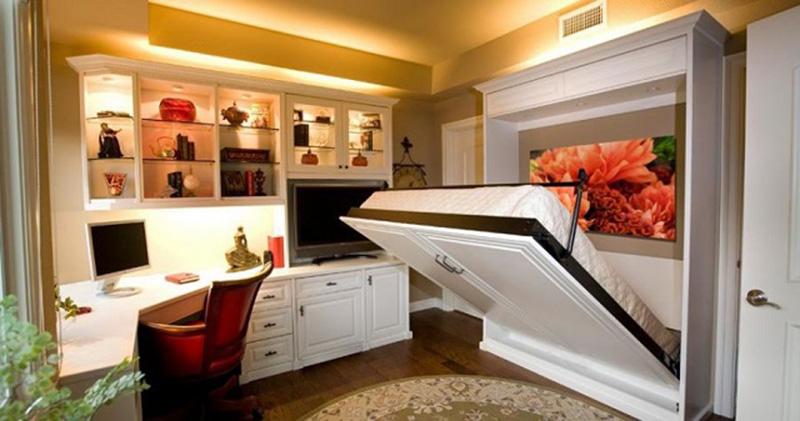 Sử dụng đồ nội thất thông minh là lựa chọn của rất nhiều hộ gia đình