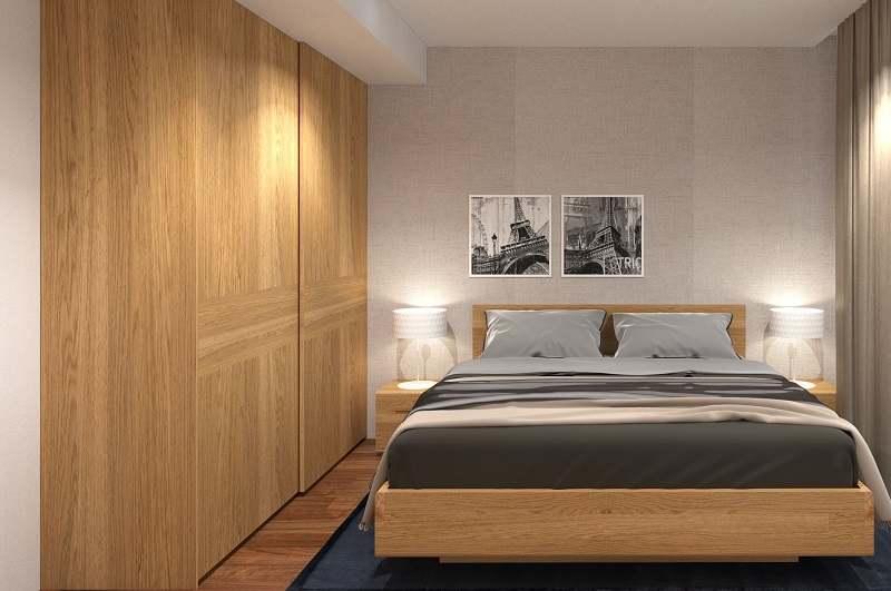 Sử dụng tủ âm tường giúp tối ưu diện tích không gian
