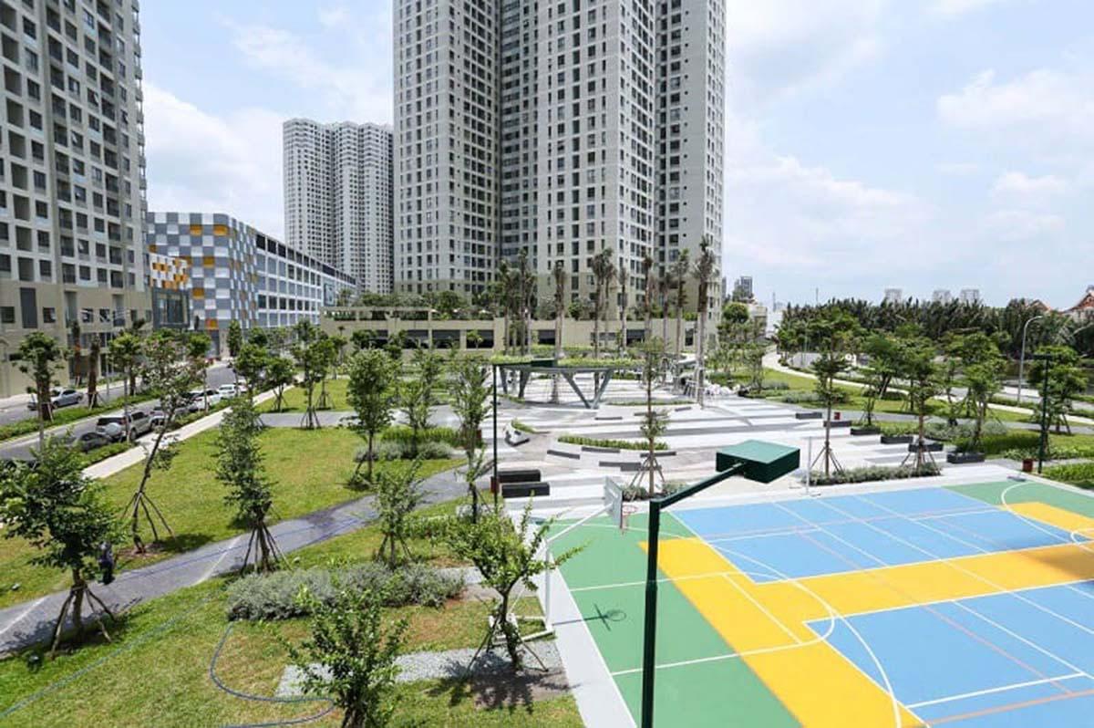 Thảo Điền Green phục vụ cư dân với khu thể thao đa năng