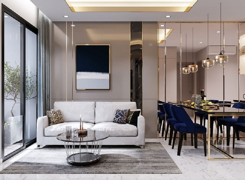 Thiết kế căn hộ One Central cao cấp đúng chuẩn căn hộ hạng sang