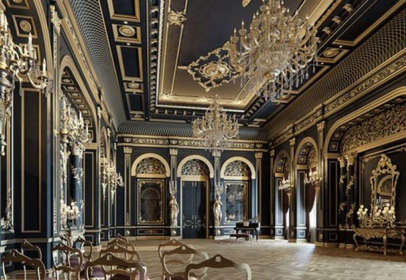 Thiết kế khách sạn theo phong cách cổ điển tráng lệ