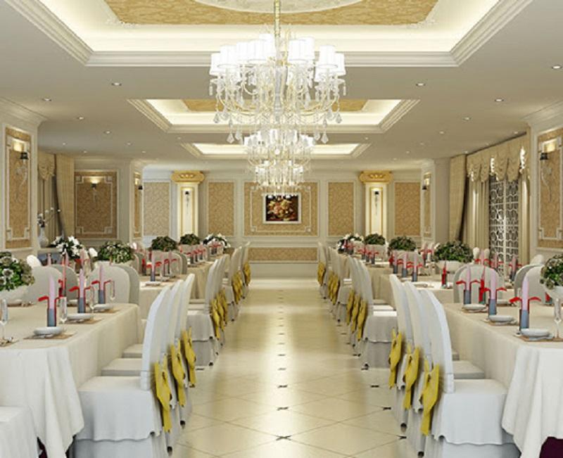 Thiết kế nhà hàng tiệc cưới - xu thế được nhiều chủ đầu tư quan tâm
