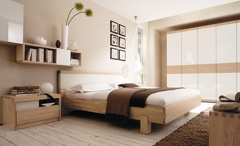 Thiết kế phòng ngủ mang nét đơn giản và tinh tế