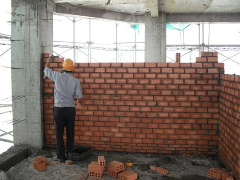 Tiêu chuẩn bổ trụ trong tường xây