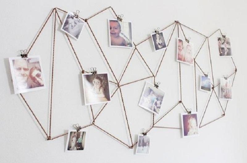 Trang trí ảnh trên tường