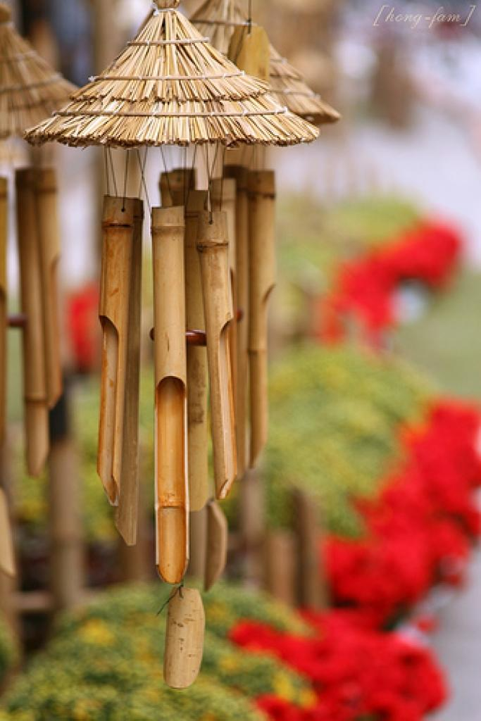 Treo chuông gió gỗ có thể hóa giải