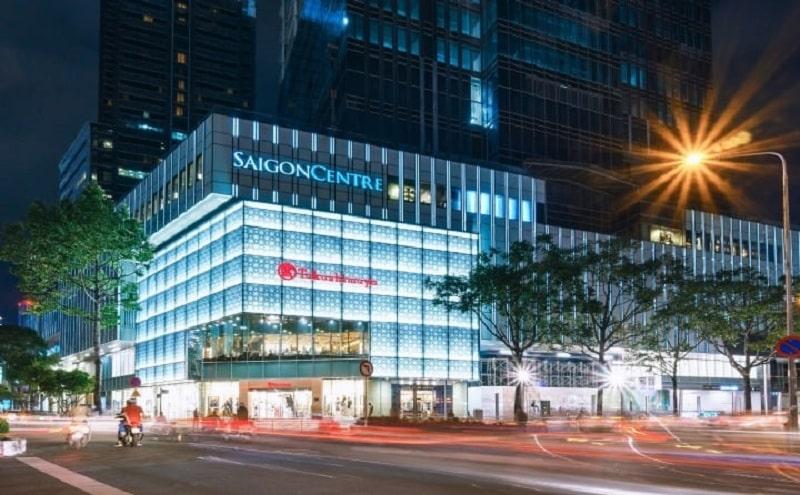 Trung tâm thương mại SaiGon Centre-Takashimaya tọa lạc tại Quận 1