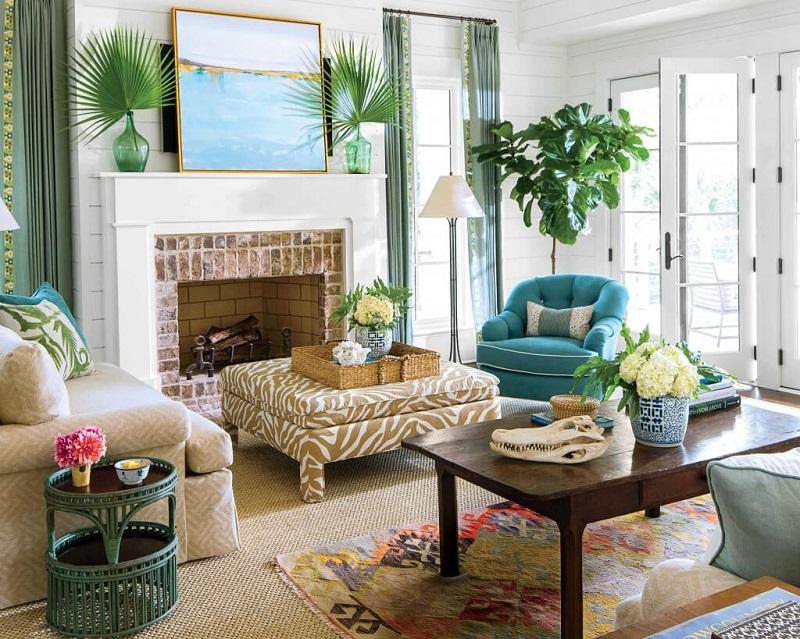 Tùy không gian căn hộ mà trang trí cây xanh trong nhà phù hợp