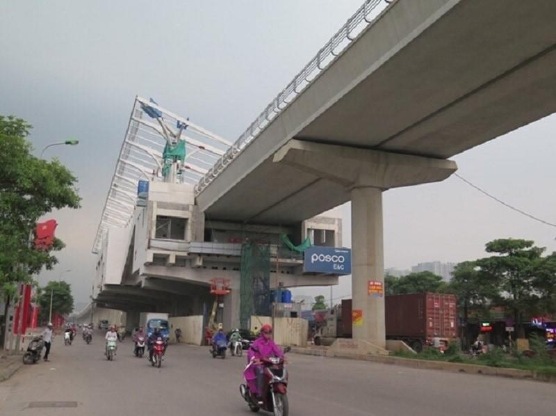 Tuyến đường metro nhà ga được thi công năm 2021