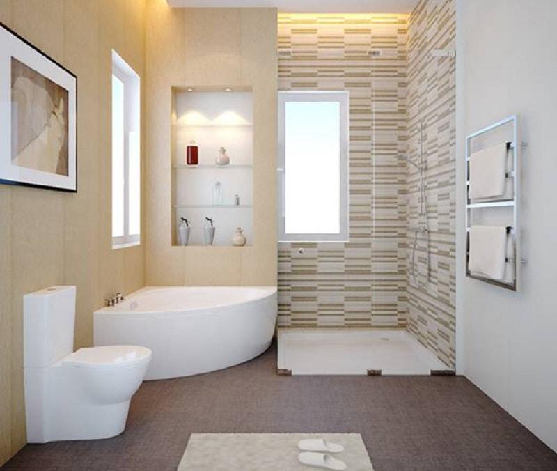 Tuyệt đối không đặt nhà vệ sinh hướng ngay cửa phòng ngủ và giường
