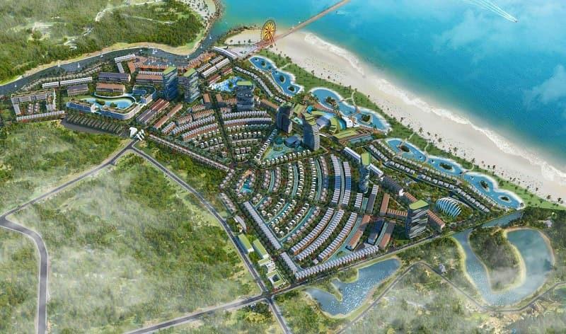 Venezia Beach tạo lạc ven biển có sông núi hữu tình chuẩn phong thủy