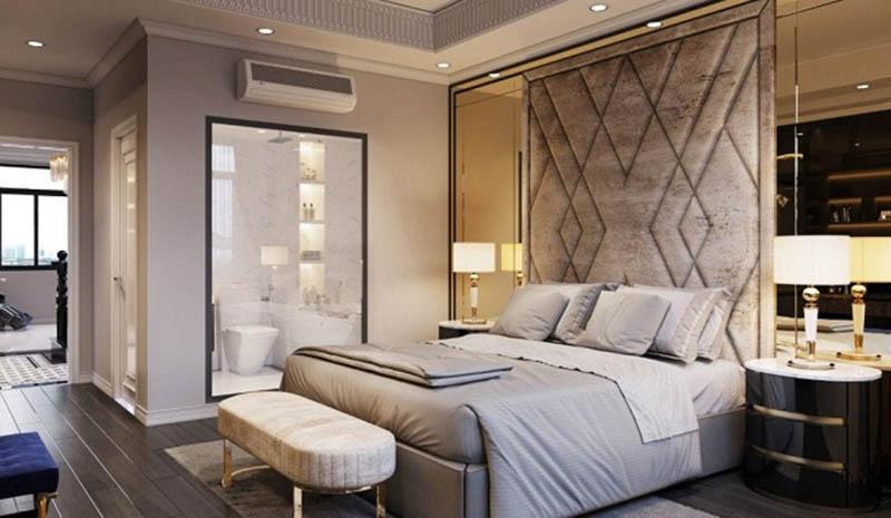 Vị trí của phòng ngủ cần được đặt ở cung tốt trong bát trạch