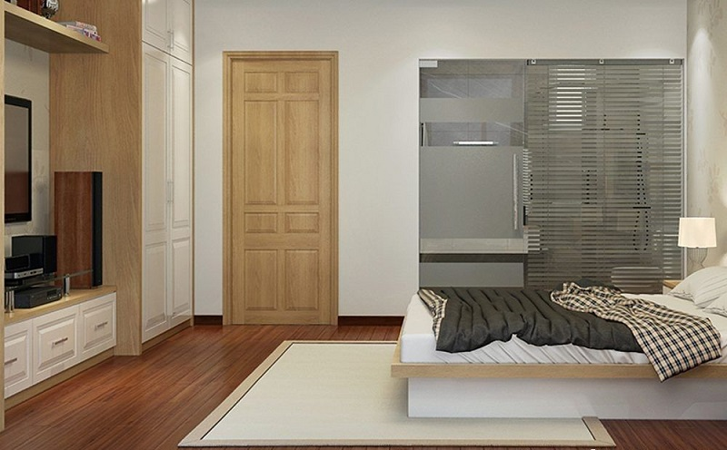 Vị trí cửa phòng ngủ đối diện với cửa phòng khách đem lại nhiều điềm xấu