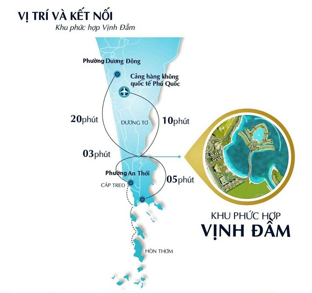 Vị trí Selavia Phú Quốc mang đến kết nối giao thông thuận lợi