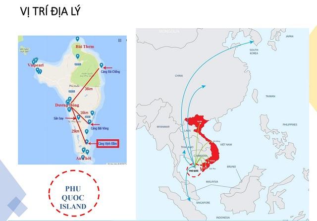 Vị trí Selavia Phú Quốc sở hữu tiềm lực phát triển cao trong tương lai
