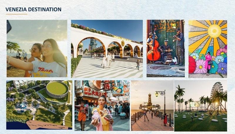 Với Venezia Beach 1 ngày khó để tận hưởng hết chuỗi tiện ích dự án