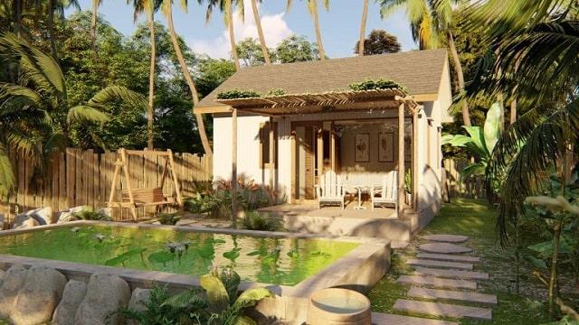 Xây dựng nhà vườn cần đảm bảo nguyên tắc đồng nhất, hài hòa