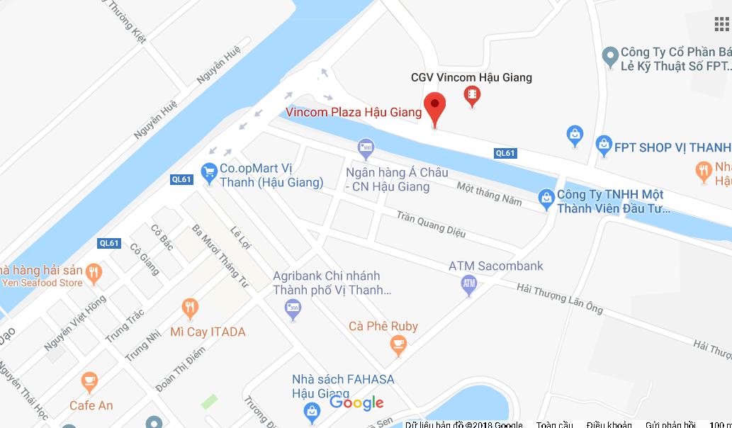 VINCOM SHOPHOUSE VỊ THANH