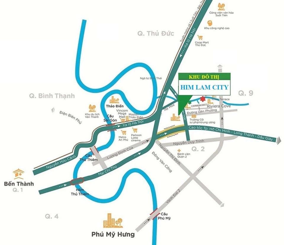 HIM LAM CITY QUẬN 2