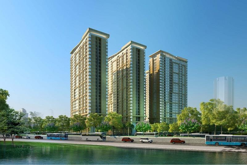TỔNG QUAN DIAMOND RIVERSIDE CITY GATE