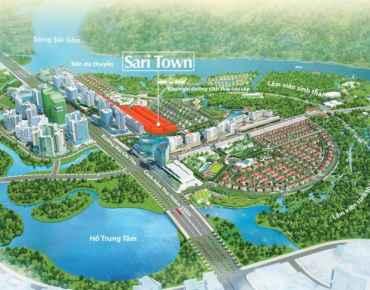 SARI TOWN SALA ĐẠI QUANG MINH