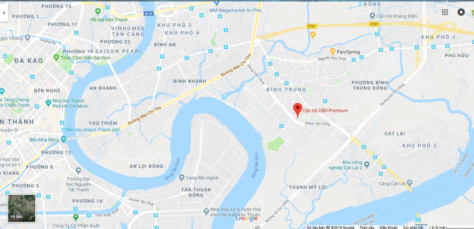 THE CBD PREMIUM QUẬN 2