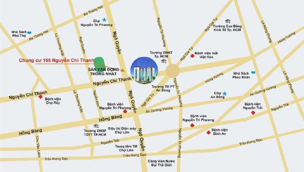 CHUNG CƯ 155 NGUYỄN CHÍ THANH