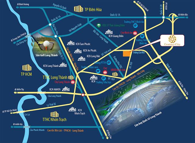 TỔNG QUAN CENTURY CITY LONG THÀNH