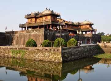 Kinh thành Huế một công trình đặc sắc trong nét kiến trúc Huế