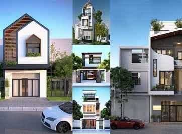 Bản vẽ thiết kế nhà 3x10m nhiều tầng
