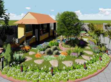 Chi tiết về cách thiết kế cảnh quan sân vườn đẹp chuẩn hiện nay